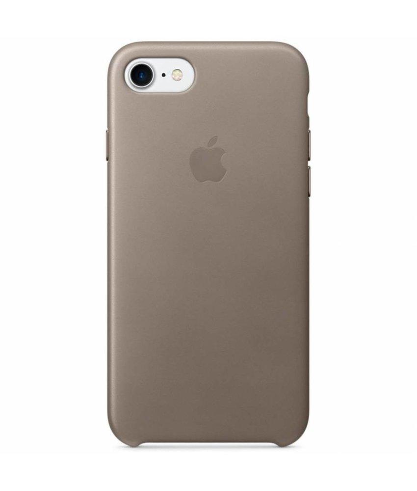 Apple Beige Leather Case iPhone 8 / 7