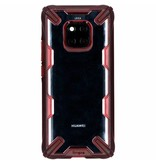 Ringke Fusion X Backcover voor Huawei Mate 20 Pro - Rood