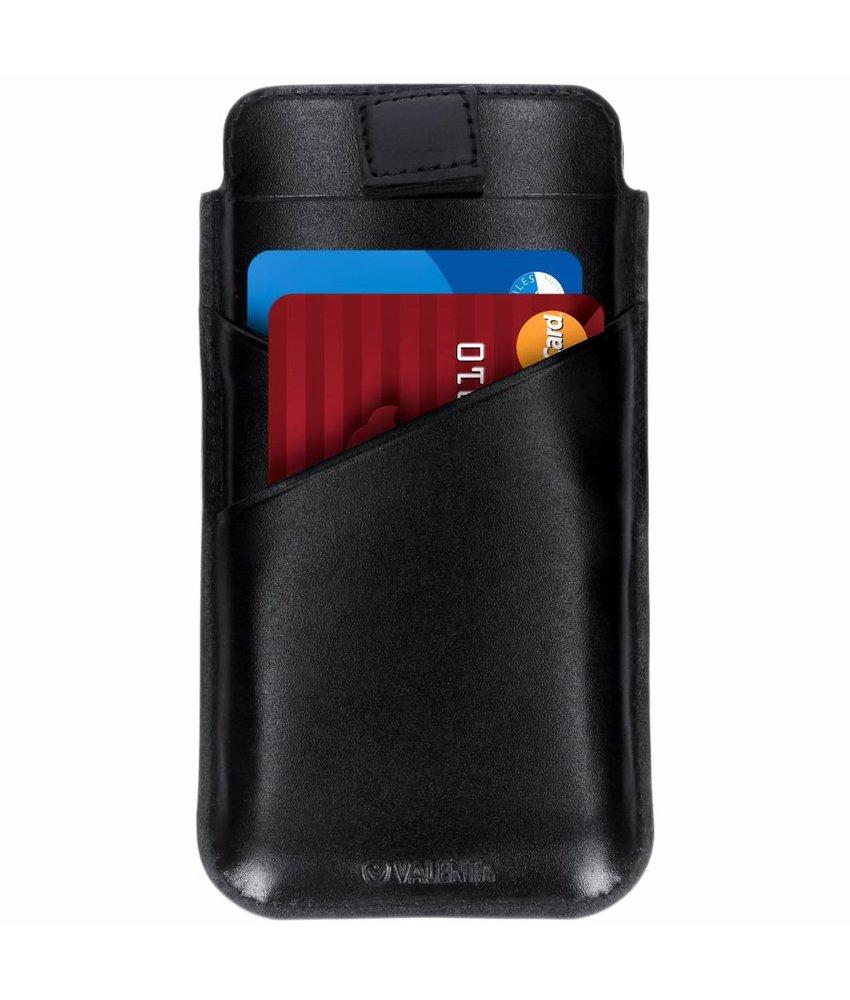 Valenta Zwart Pocket Premium iPhone Xr