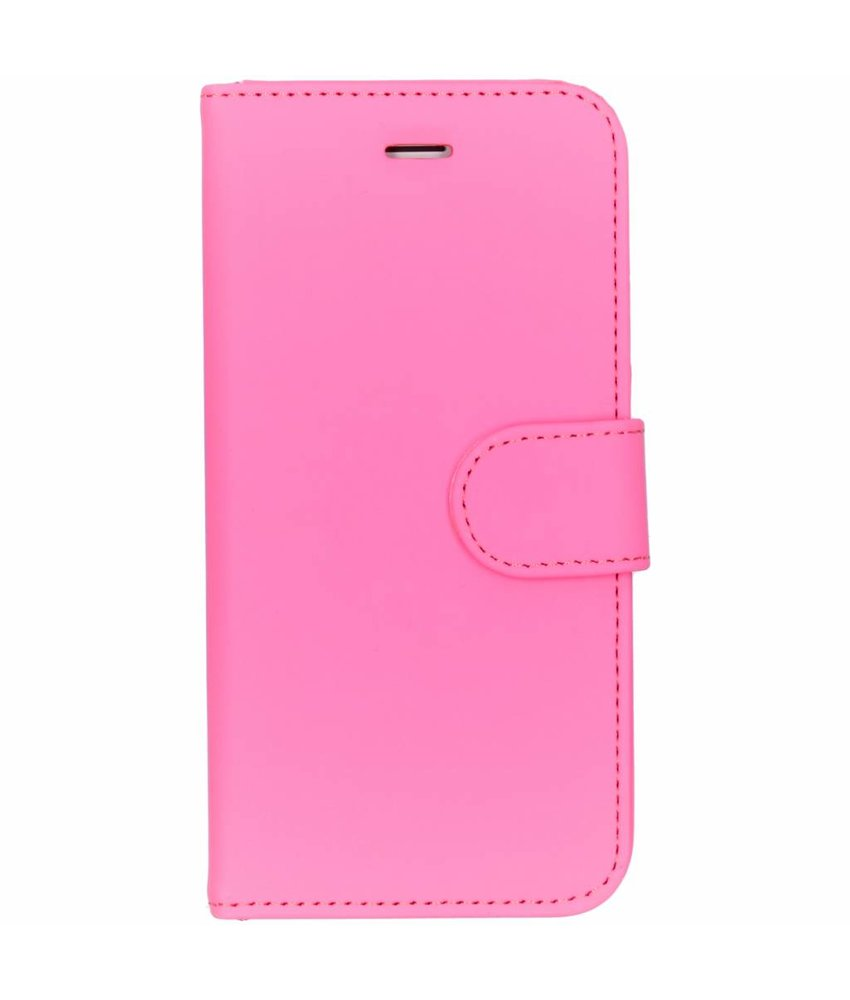 Accezz Roze Wallet TPU Booklet iPhone 8 / 7 / 6 / 6s