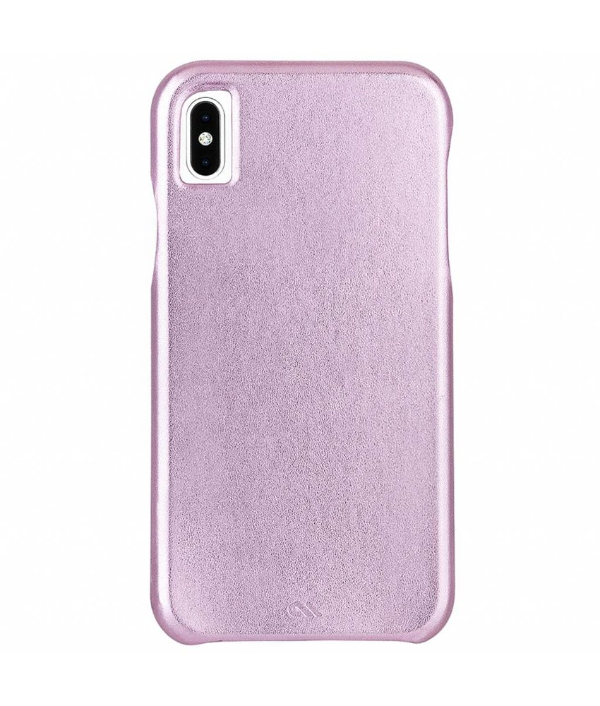 Case-Mate Barely There Leather Backcover iPhone X / Xs