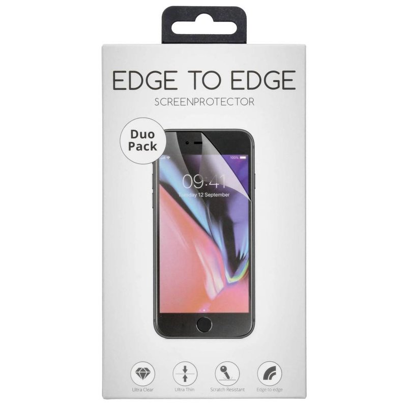 Selencia Duo Pack Anti-fingerprint Screenprotector Galaxy S10e
