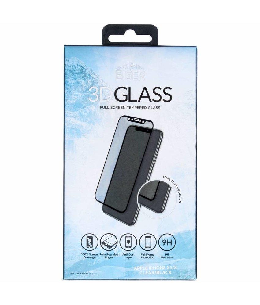 Eiger Edge to Edge Tempered Glass Screenprotector iPhone Xs / X
