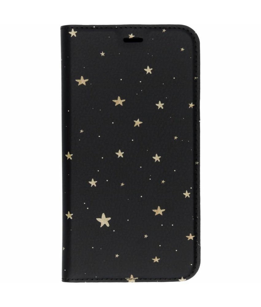 Design Softcase Booktype Huawei Y6 (2018)