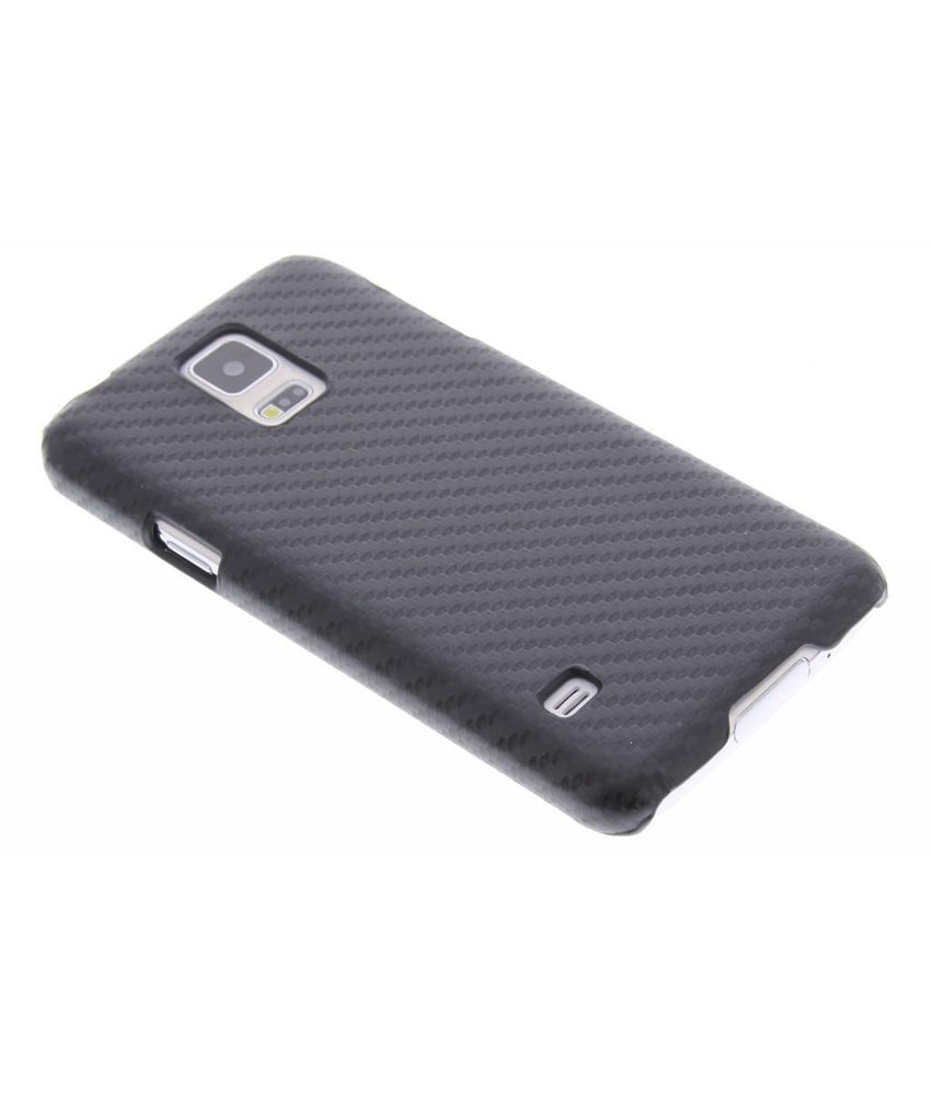 Carbon Hardcase Backcover Samsung Galaxy S5 (Plus) / Neo