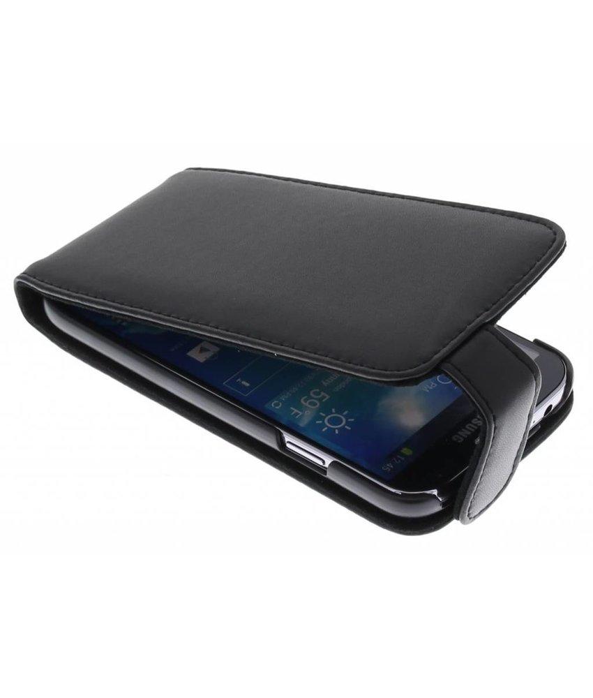 Zwart stijlvolle flipcase Samsung Galaxy S4