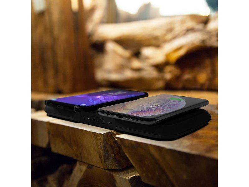 Zens Zwarte Dual Fast Wireless Charger - 10 Watt