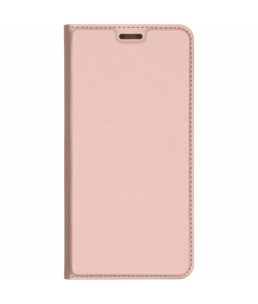Dux Ducis Rosé Goud Slim TPU Booklet Samsung Galaxy A7 (2018)