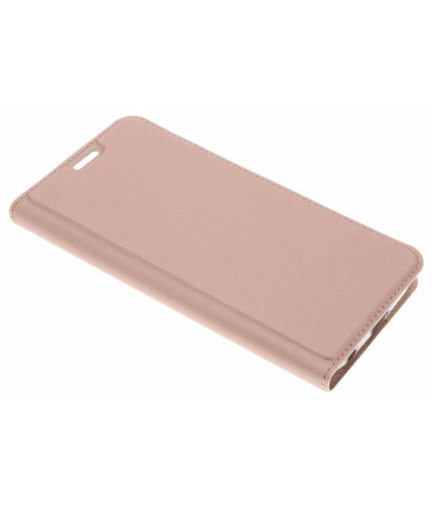 Dux Ducis Rosé Goud Slim TPU Booklet Motorola Moto G6