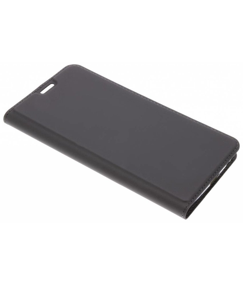Dux Ducis Grijs Slim TPU Booklet Motorola Moto G6 Plus