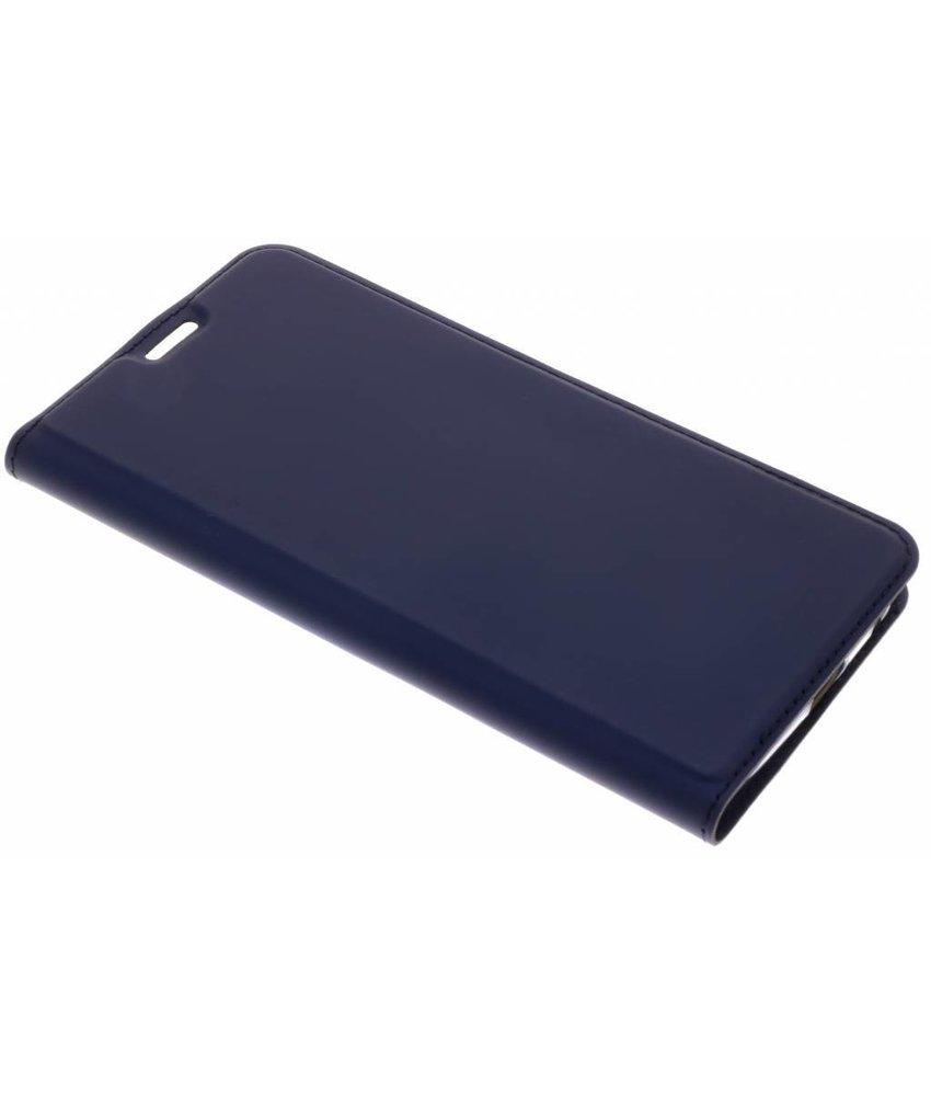 Dux Ducis Blauw Slim TPU Booklet Motorola Moto G6 Plus