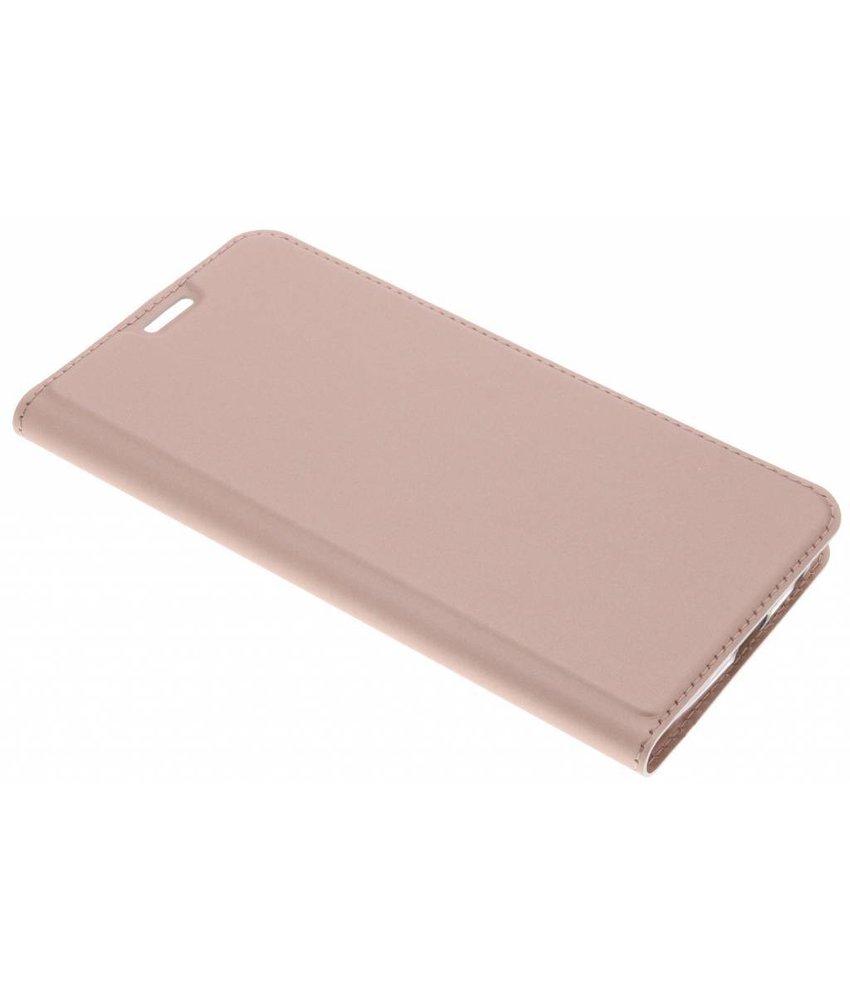 Dux Ducis Rosé Goud Slim TPU Booklet Motorola Moto G6 Plus