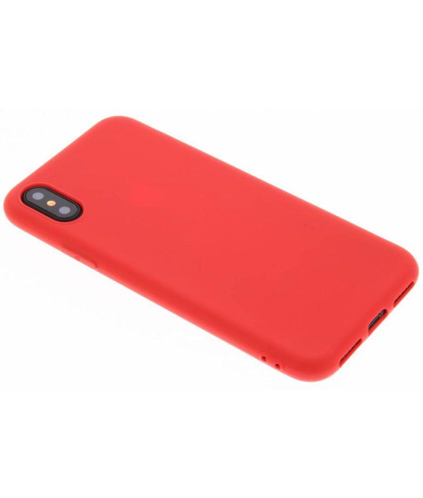 Koraal Color TPU hoesje iPhone Xs / X