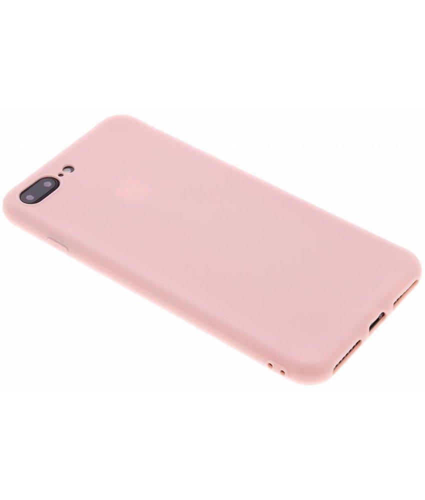 Poederroze color TPU hoesje iPhone 8 Plus / 7 Plus