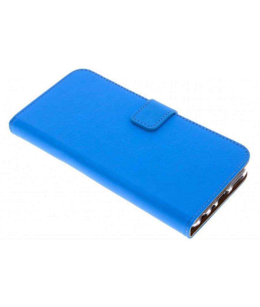 Selencia Blauw Luxe TPU Book Case Huawei P Smart