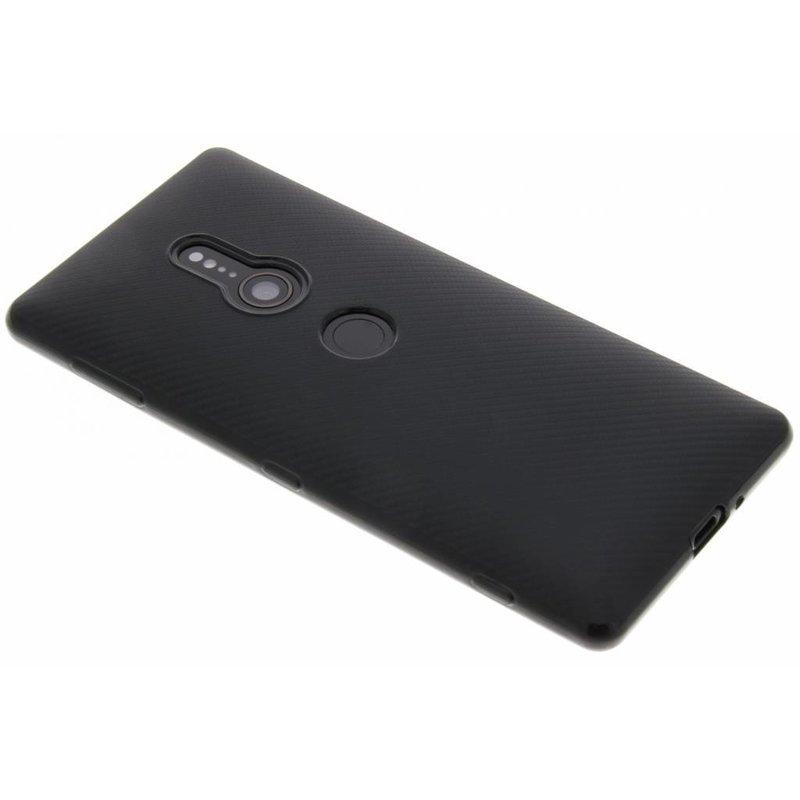 Carbon Softcase Backcover Sony Xperia XZ2