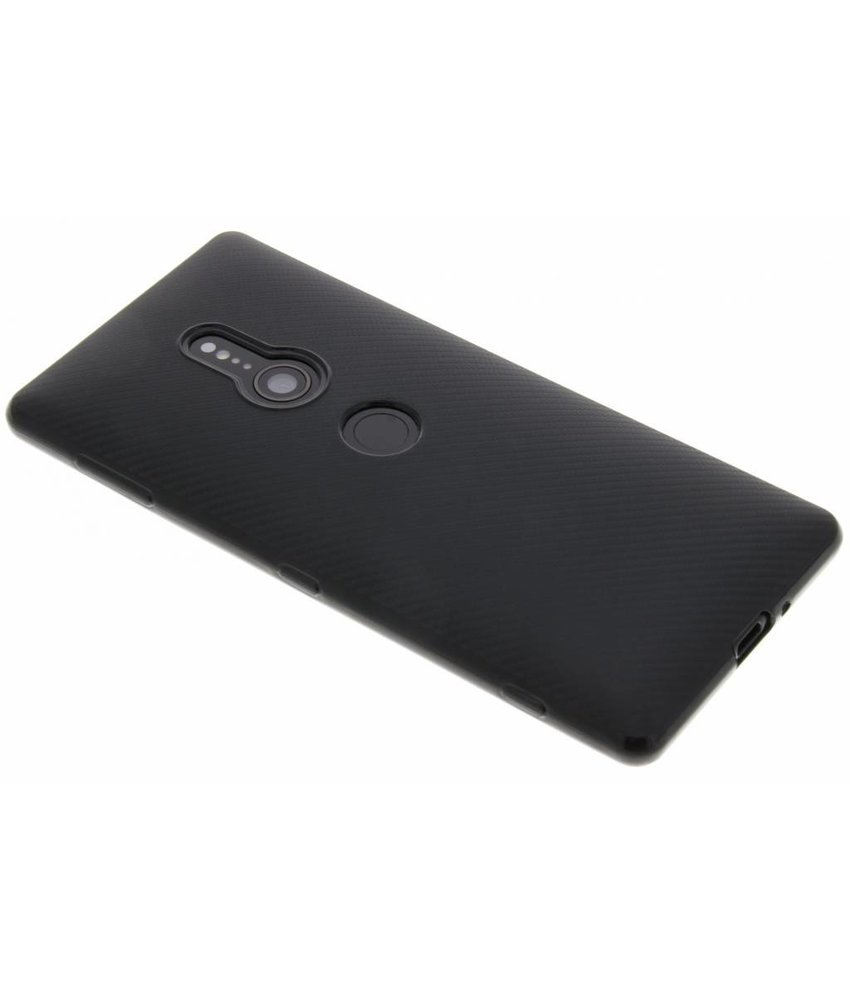 Carbon Softcase Backcover Sony Xperia XZ2