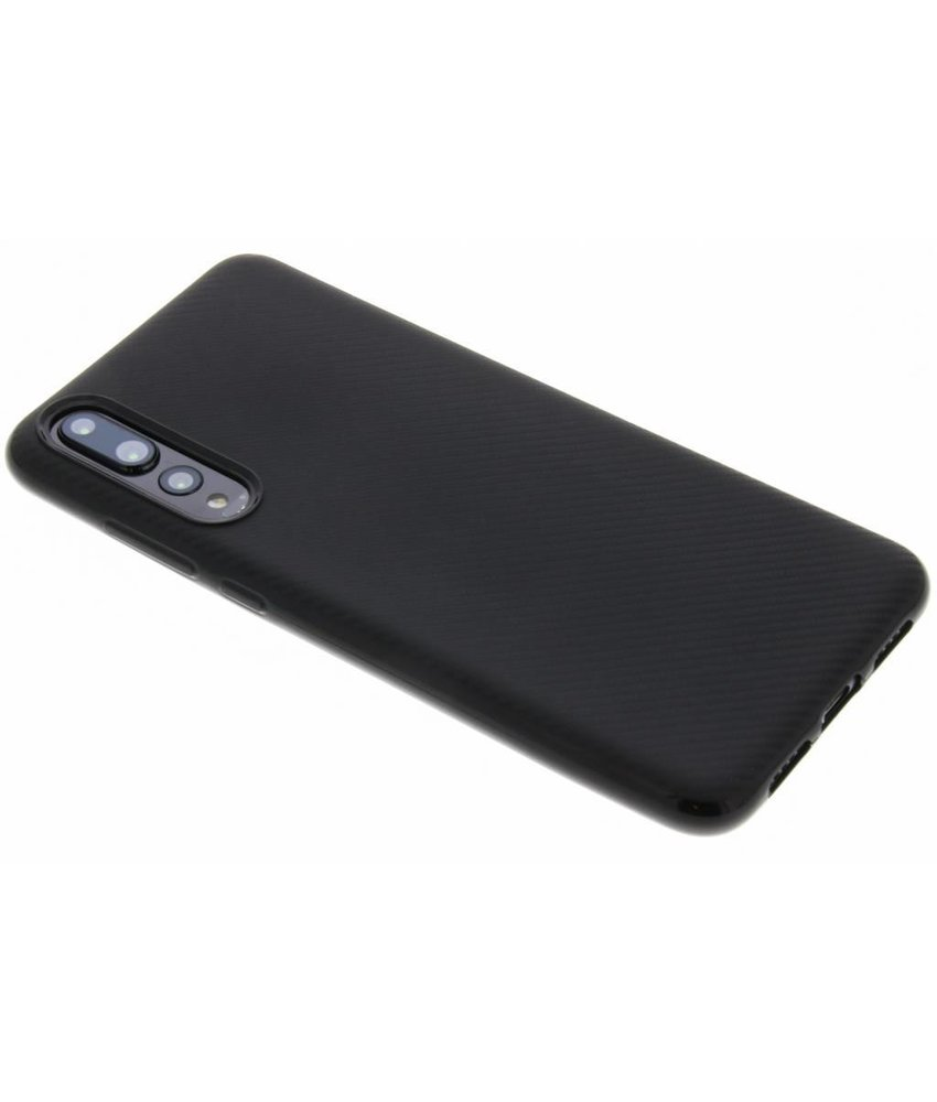 Carbon Softcase Backcover Huawei P20 Pro