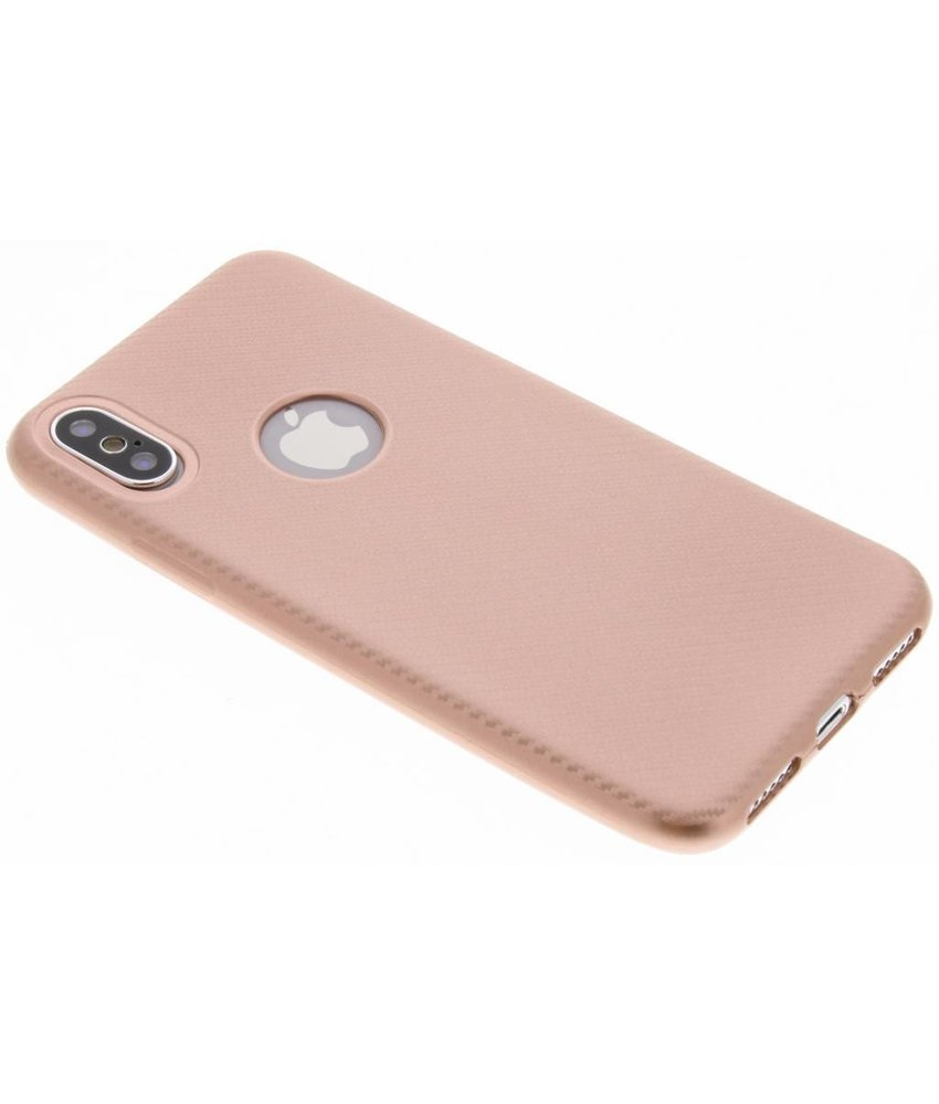 Carbon Softcase Backcover iPhone X