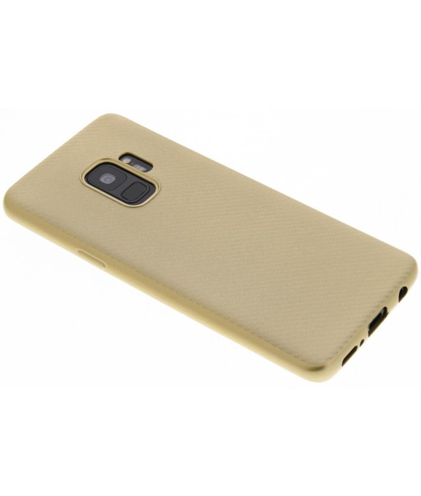 Carbon Softcase Backcover Samsung Galaxy S9