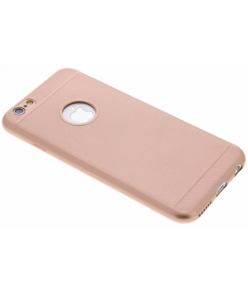 Carbon Softcase Backcover iPhone 6 / 6s