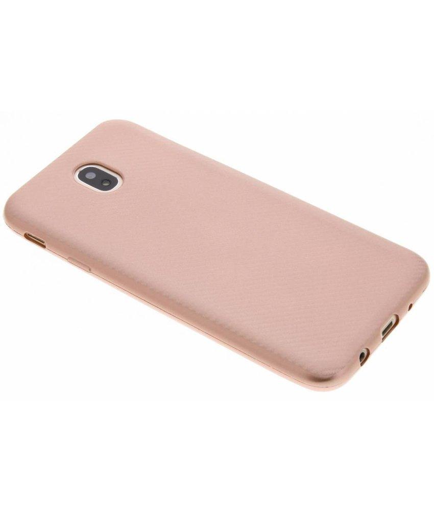 Carbon Softcase Backcover Samsung Galaxy J7 (2017)