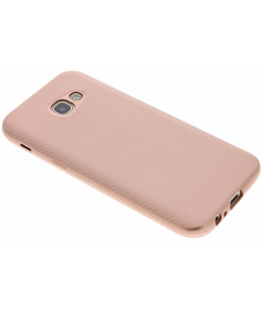 Carbon Softcase Backcover Samsung Galaxy A5 (2017)