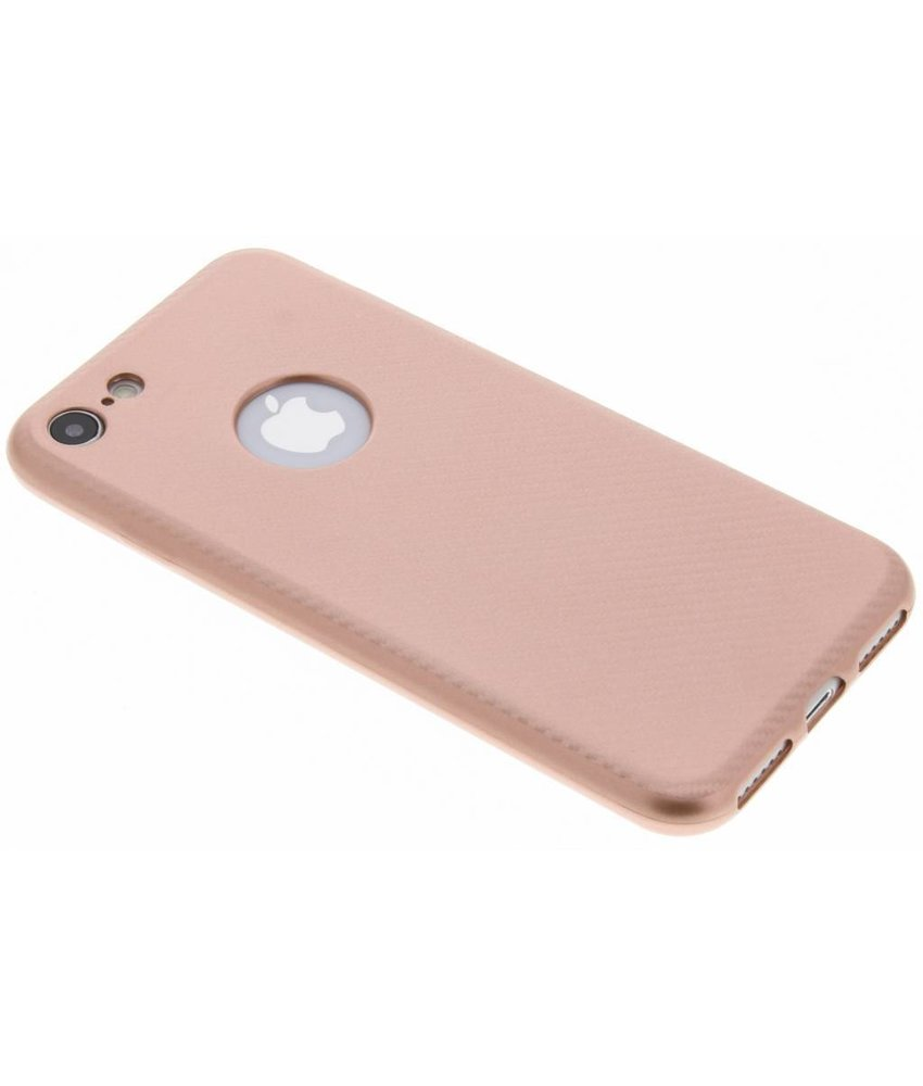 Carbon Softcase Backcover iPhone 8 / 7