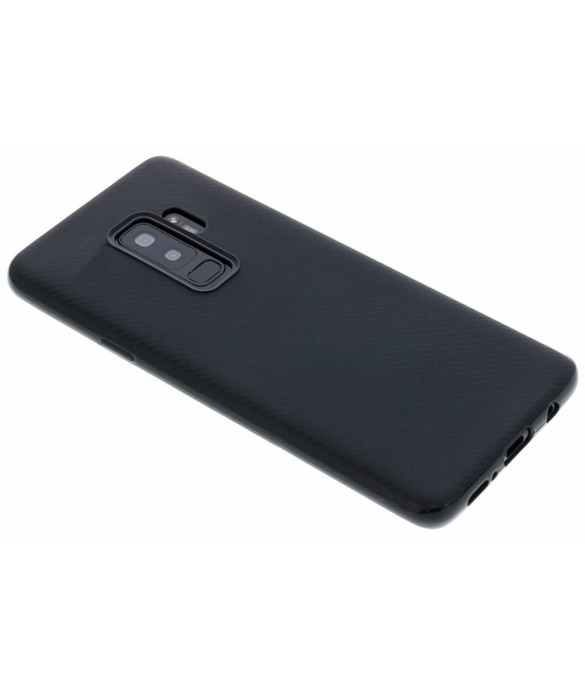 Carbon Softcase Backcover Samsung Galaxy S9 Plus