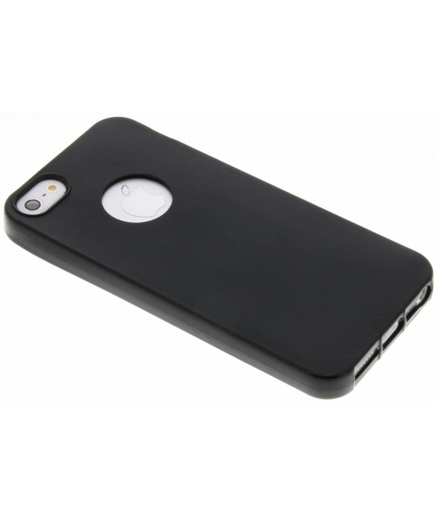 Carbon Softcase Backcover iPhone SE / 5 / 5s