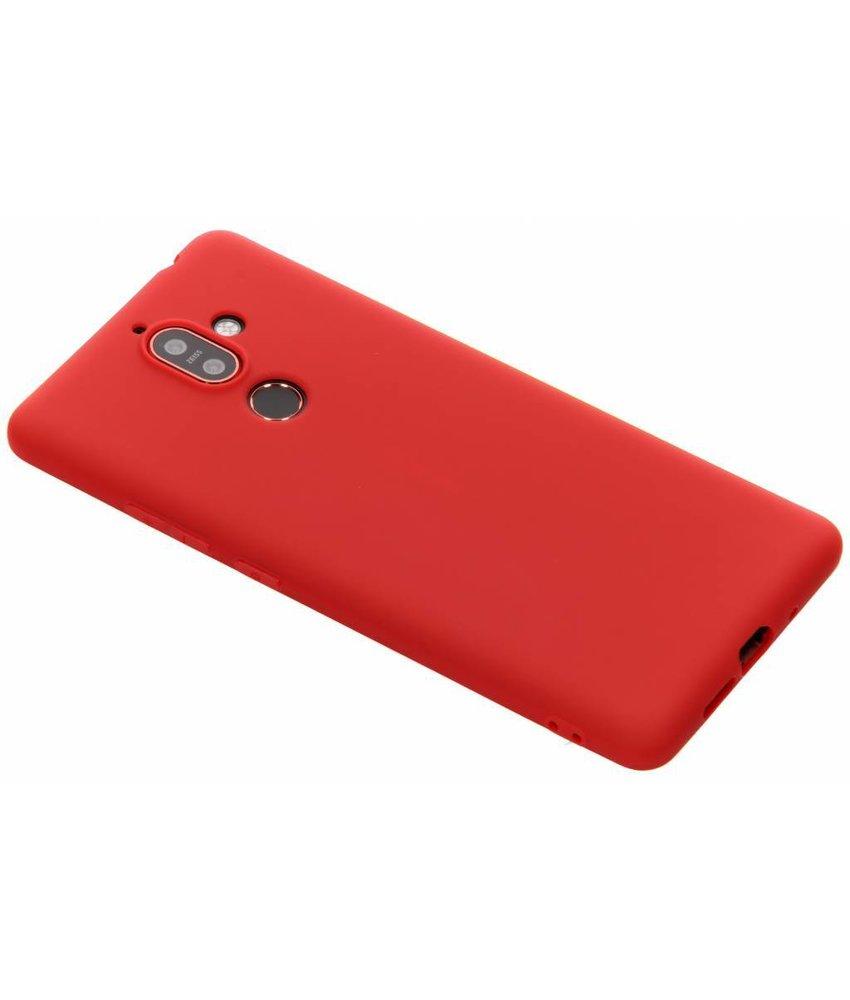 Koraal Color TPU hoesje Nokia 7 Plus