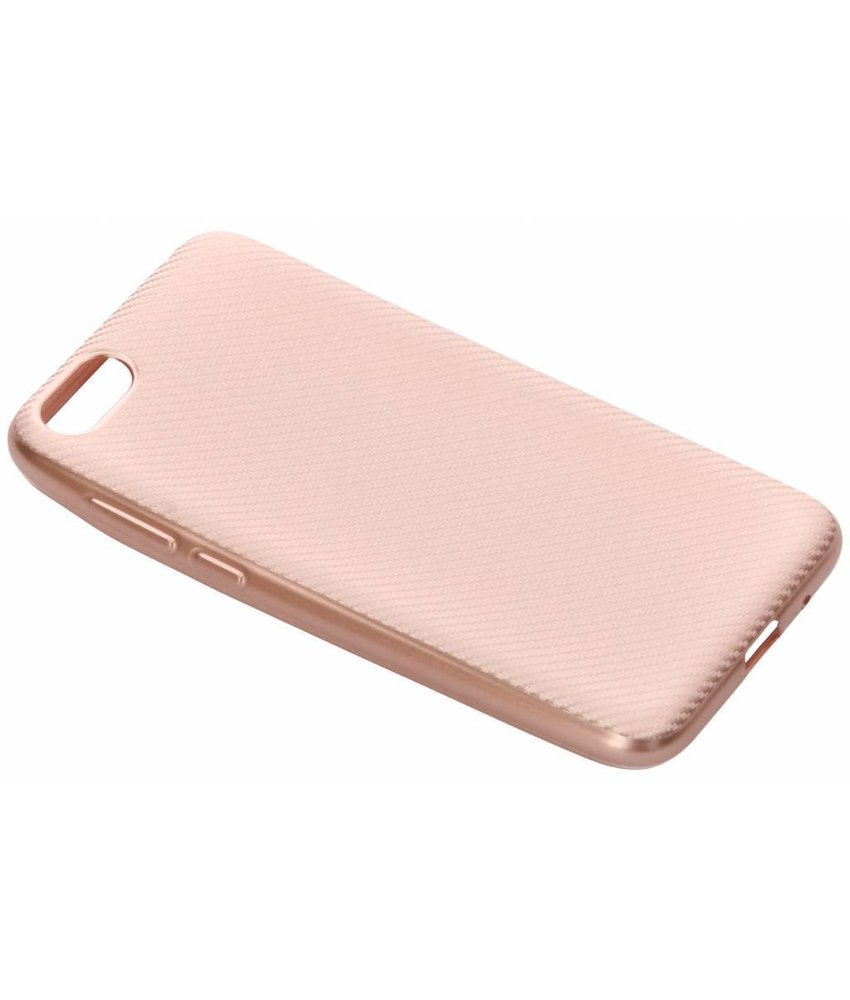 Carbon Softcase Backcover Huawei Y5 (2018)