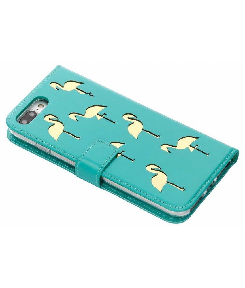 Echt Lederen Booktype iPhone 8 Plus / 7 Plus / 6(s) Plus