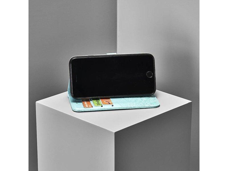 Motorola Moto G6 Plus hoesje - Mandala Booktype voor Motorola
