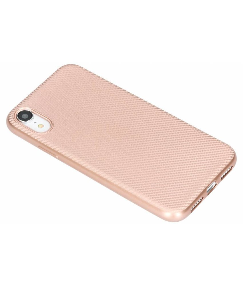 Carbon Softcase Backcover iPhone Xr