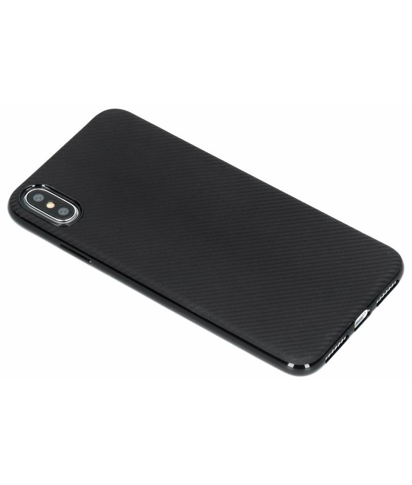Carbon Softcase Backcover iPhone Xs Max