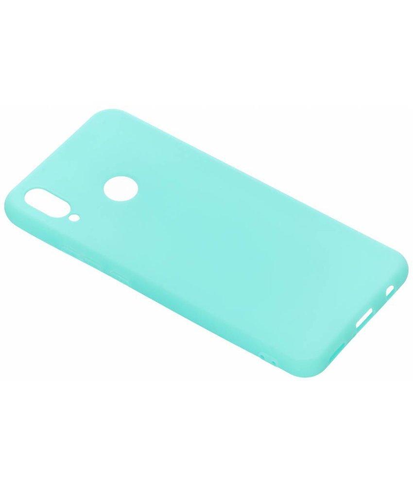Mintgroen color TPU hoesje Huawei P Smart Plus