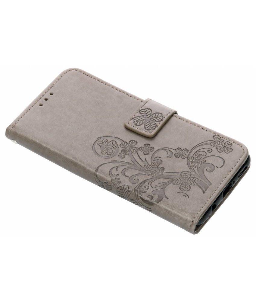 Klavertje Bloemen Booktype Huawei P Smart Plus