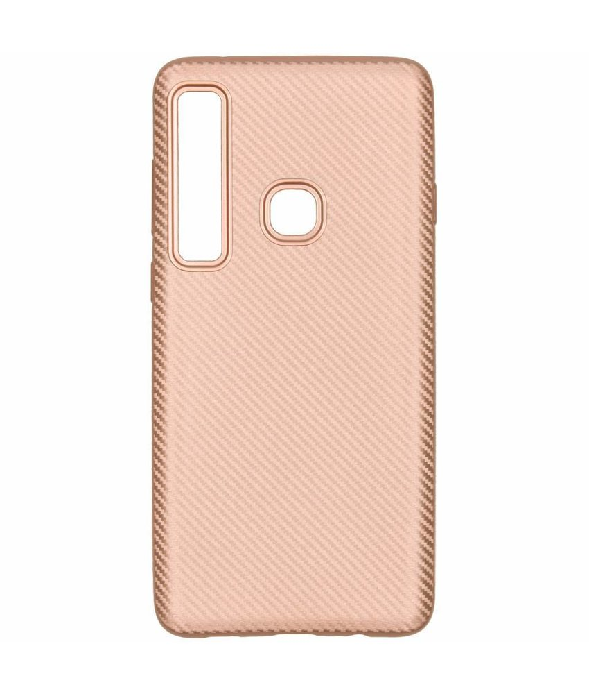 Carbon Softcase Backcover Samsung Galaxy A9 (2018)