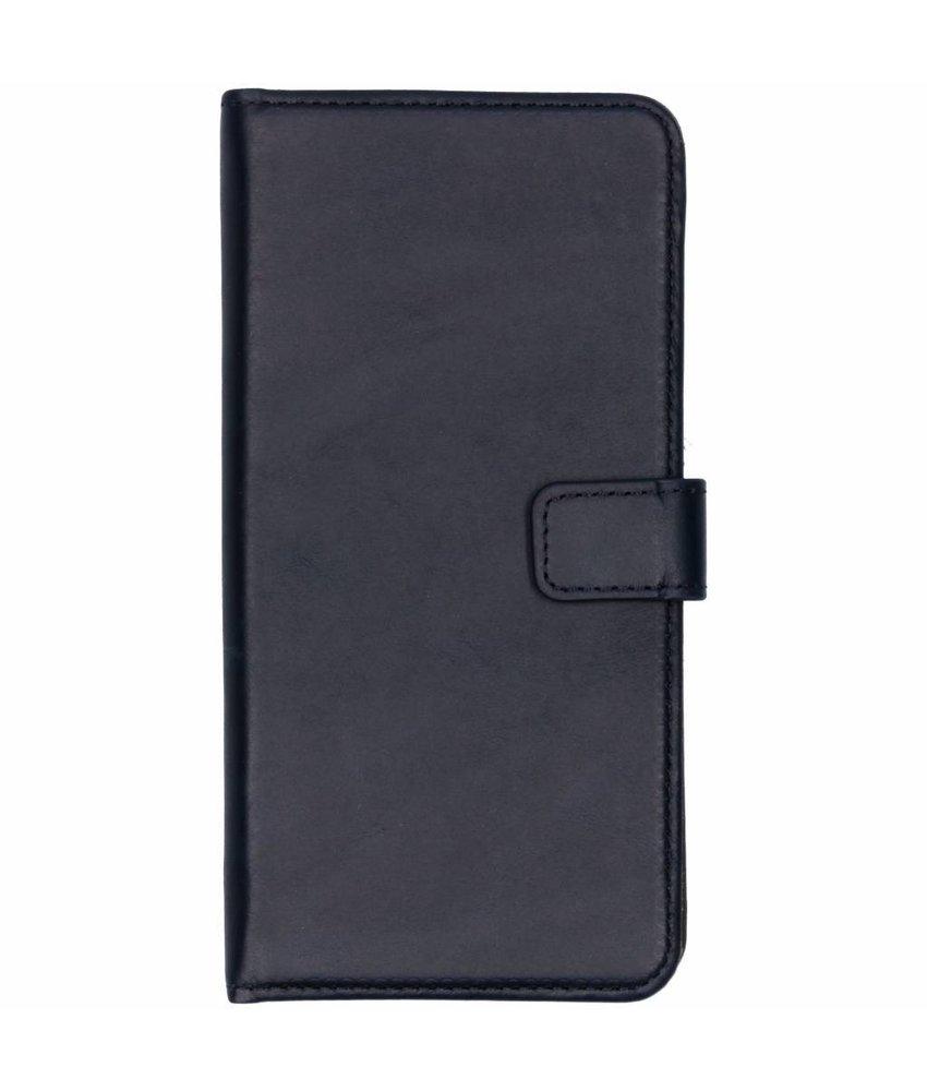 Selencia Echt Lederen Booktype Samsung Galaxy J6 Plus