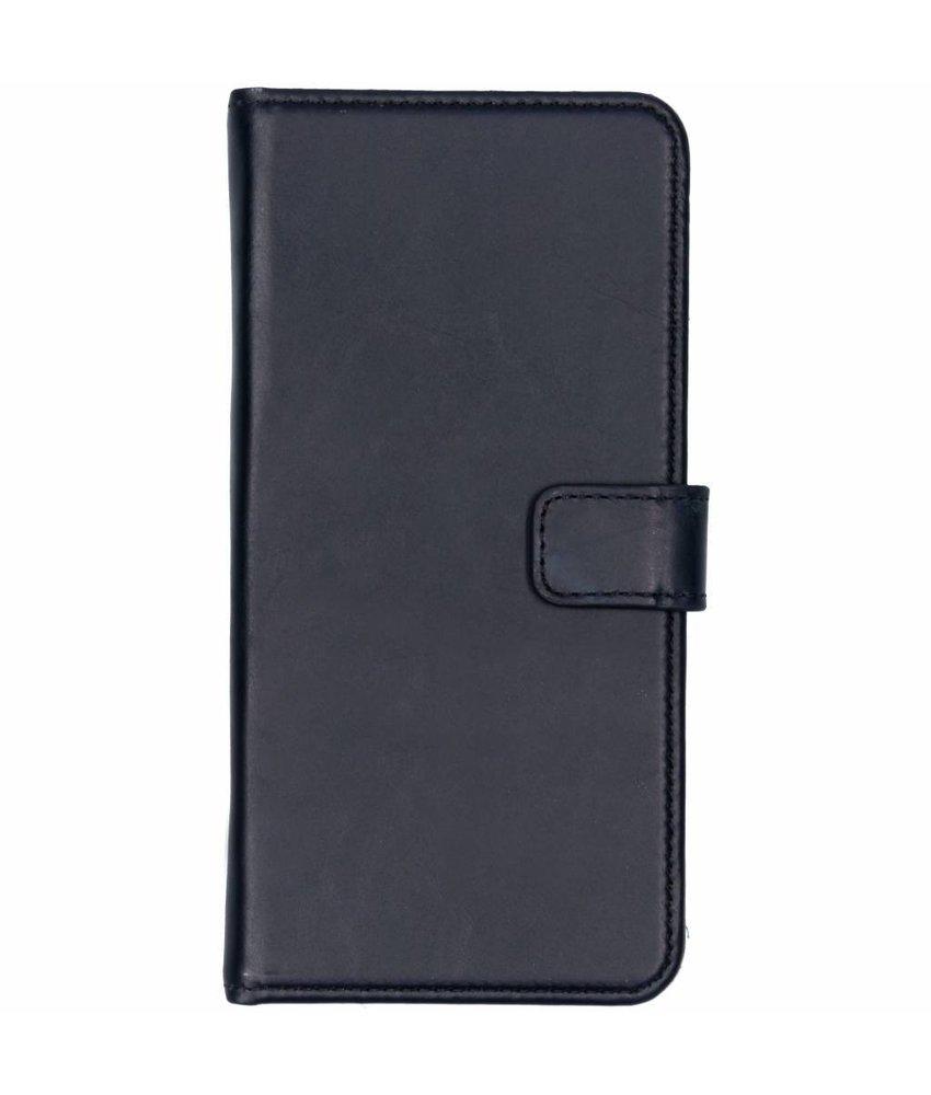 Selencia Echt Lederen Booktype Samsung Galaxy J4 Plus