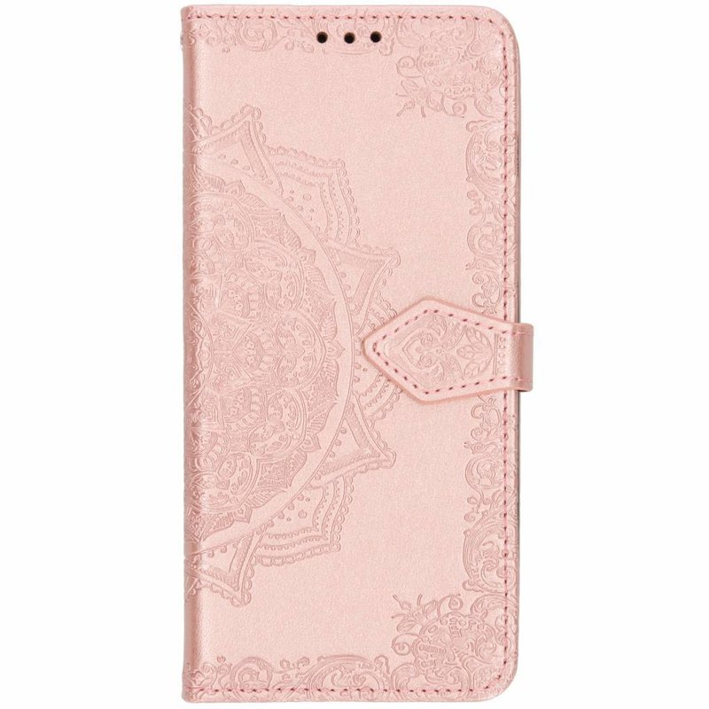 Roze mandala booktype hoes Samsung Galaxy S10