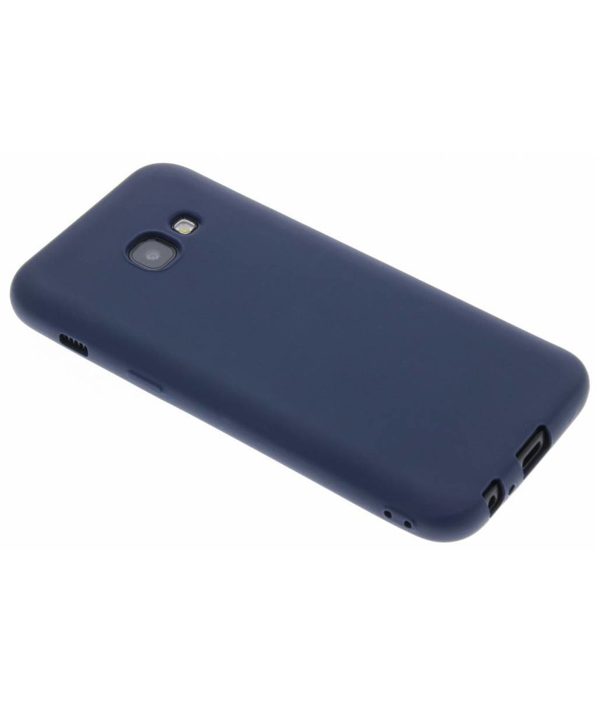 Donkerblauw Color TPU hoesje Samsung Galaxy A3 (2017)