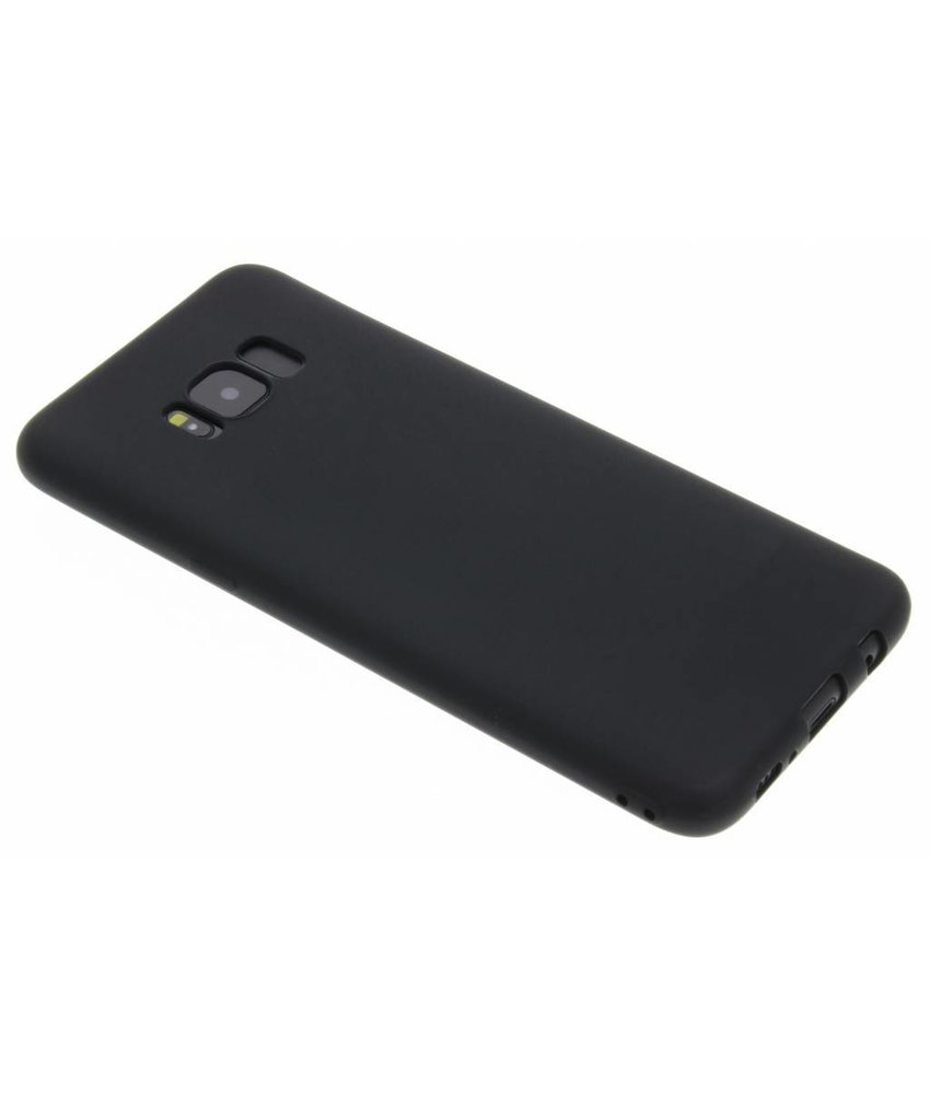Zwart Color TPU hoesje Samsung Galaxy S8 Plus