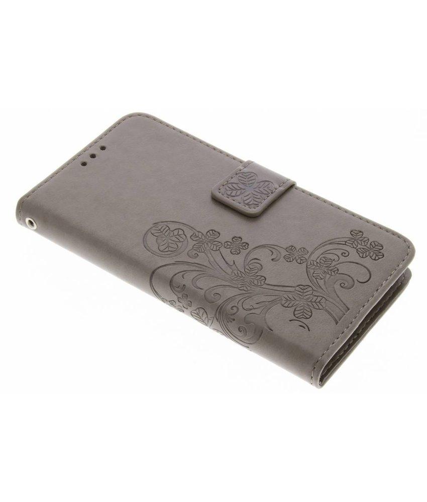 Klavertje Bloemen Booktype Samsung Galaxy J5 (2016)