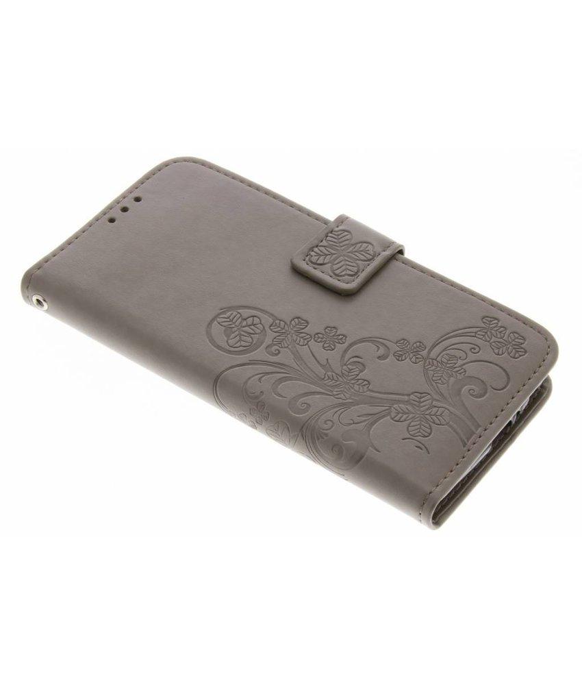 Klavertje Bloemen Booktype Motorola Moto G5 Plus