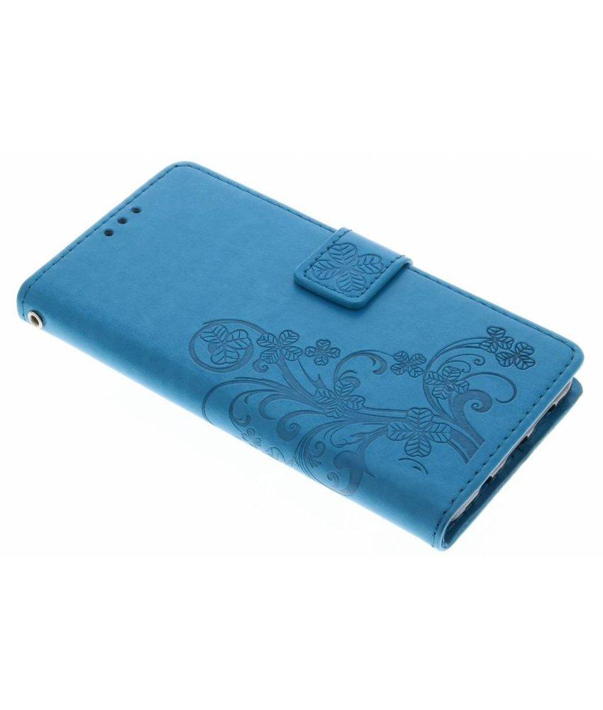 Klavertje Bloemen Booktype Samsung Galaxy A5 (2016)