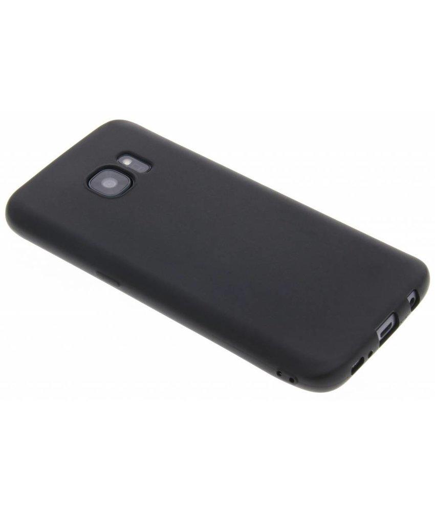 Zwart Color TPU hoesje Samsung Galaxy S7