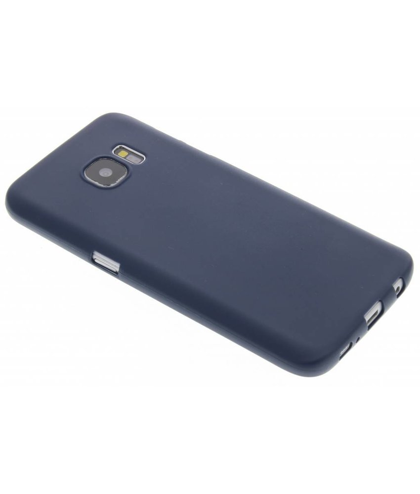 Donkerblauw Color TPU hoesje Samsung Galaxy S7