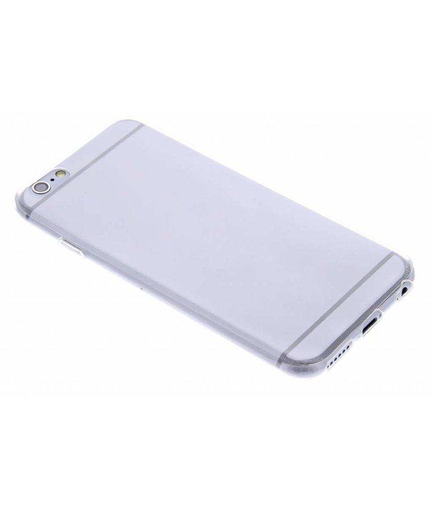 Ultra Thin Transparant Backcover iPhone 6 / 6s